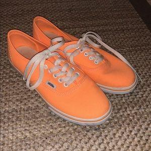 Women's Orange Vans